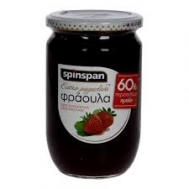 Spin Span  μαρμελάδα Φράουλα 600 gr