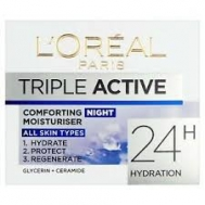 L'Oreal Paris Triple Active Κρέμα  Νυκτός 50 ml
