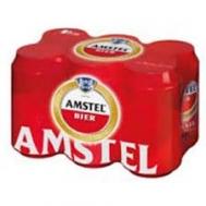 Amstel Μπύρα Κουτί  330 ml x 6
