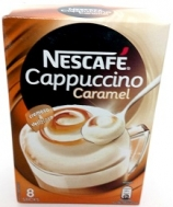 Nescafe Cappuccino Στιγμιαίο Ρόφημα με Καραμέλα 8 Χ17 gr