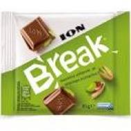ΙΟΝ Break Σοκολάτα Γάλακτος με Φυστίκι Αιγίνης 85gr