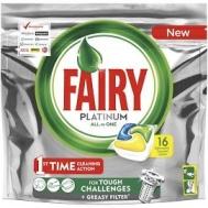Fairy PlatinumΤαμπλέτες Πλυντηρίου Πιάτων Lemon 16 +16 Τεμάχια