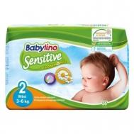 Babylino Sensitive Πάνες Νο2 Mini 3-6 kg 26 Τεμάχια
