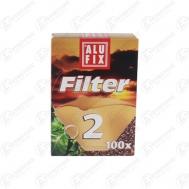 Alufix Φίλτρα για Καφέ No2  100