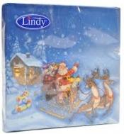 Lindy  Χαρτοπετσέτες Πολυτελείας Χριστουγεννιάτικες  20 τεμάχια