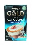 Mokate  Premium Cappuccino Unsweeted Στιγμιαίο Ρόφημα 15 x10 gr