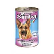 Simba Σκυλοτροφή με Αρνί 400 gr