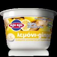 Κρι Κρι Επιδόρπιο Γιαουρτιού 1,7% Λιπαρά Με Λεμόνι & Ginger 3x200 gr 2+1 Δώρο