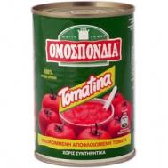 Ομοσπονδία Ψιλοκομμένη Αποφλειωμένη Τομάτα 400 gr