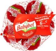 Babybel Μαλακό Τυρί 6 μερίδες 120 gr