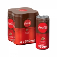 Coca Cola Plus Coffee 4x330 ml