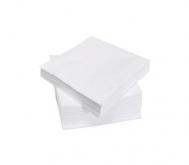 Χαρτοπετσέτες Πολυτελείας Λευκές  100 τεμάχια