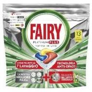 Fairy PlatinumΤαμπλέτες Πλυντηρίου Πιάτων Lemon 13 Τεμάχια