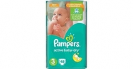 Pampers Active  Baby Dry  No  3  48  Τεμαχια