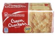 Παπαδοπούλου Cream Crackers Σίτου 140 gr
