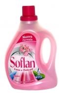 Soflan Υγρό Πλυντηρίου με Άρωμα Λουλουδιών 1 lt