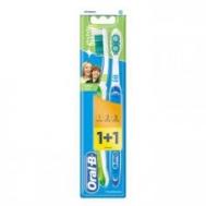 Oral B Οδοντόβουρτσα Indicator 1 2 3     1+1 Δώρο
