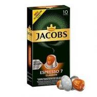 Jacobs (Espresso 7) Classico 10 Κάψουλες 52 gr για Μηχανή Nespresso