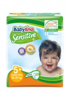 Babylino Sensitive Πάνες Νο 5+ Junior Plus 16 Τεμάχια