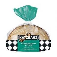 Κατσέλης Ψωμί Φέτες Γερμανικού Τύπου Σταρένιο  500 gr