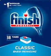 Finish Ταμπλέτες Πλυντηρίου Πιάτων Classic 38 Τεμάχια