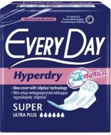 Everyday Hyperday Ultra Plus Super Σερβιέτες 10 Τεμάχια