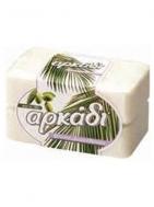 Αρκάδι Φυσικό Λευκό Σαπούνι  4 Χ 150 gr