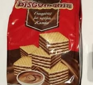 Biscomania  Γκοφρλετες με  Κρέμα Κακάο 250 gr