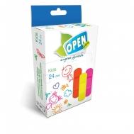 Open Care Kids Επιθέματα  2 Μεγέθη 20 Τεμάχια