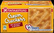Παπαδοπούλου Cream Cracker Κριθάρι & Βρώμη 185 gr