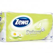 Zewa Deluxe Χαμομήλι Χαρτί Υγείας 8 Ρολά