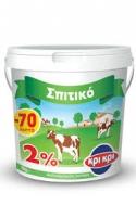 Κρι Κρι Σπιτικό Επιδόρπιο Γιαουρτιού Στραγγιστό  2 % 1 kg