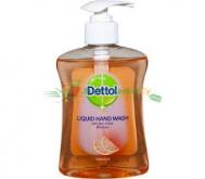 Dettol Foaming Αντιβακτηριδιακό Κρεμοσάπουνο με Γκρειπφρούτ 250 ml