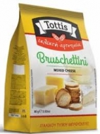Tottis Bruscettini Mixed Cheese 80 gr
