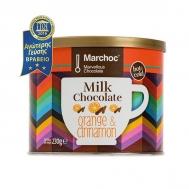 Marchoc Ρόφημα Σοκολάτας Γάλακτος Πορτοκάλι & Κανέλα 230 gr
