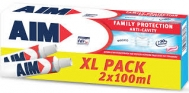 Aim Family  Protection Anti Cavity  2 Χ 100 ml
