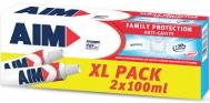 Aim Family  Protection Anti Cavity  2 Χ 100 ml