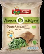 Μπάρμπα Στάθης Βιολογικές Καλλιέργιες Φασολάκια Πλατιά 450 gr