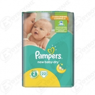 Pampers Active  Baby Dry  No2  22  Τεμαχια