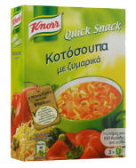 Knorr Quick Snack Κοτόσουπα με Ζυμαρικά 30 gr