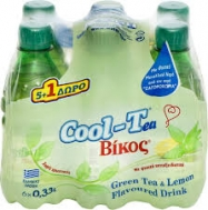 Βίκος Cool Tea Πράσινο 6x330 ml 5+1 Δώρο