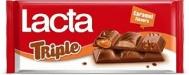 Lacta Σοκολάτα Triple chocolate 90 gr