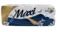 Maxi  Χαρτί Υγείας 10 Ρολά  3 Φυλλο touch of Silk