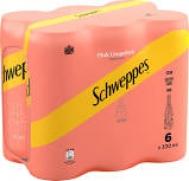 Schweppes Σόδα GrapeFruit 6x330 ml