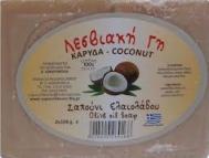 Λεσβιακη Γή Σαπούνι Καρύδα 100 gr