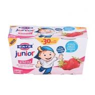 Φάγε Junior Γιαούρτι Φράουλα 2Χ150 gr