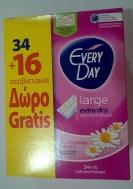 Everyday  Extra Dry  XL Σερβιετάκια 30Τεμάχια + 14 Δώρο