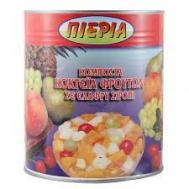 Πιερία Κομπόστα Φρουτοσαλάτα 5 Φρούτα 825 gr