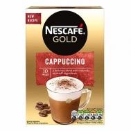 Nescafe Gold Cappuccino  Στιγμιαίο Ρόφημα 10x14 gr
