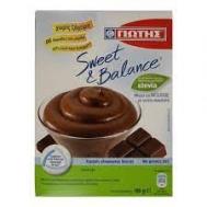 Γιώτης Sweet & Balance  Μίγμα για Μούς Σοκολάτα με Stevia 160 gr